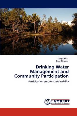 Drinking Water Management and Community Participation (Paperback)