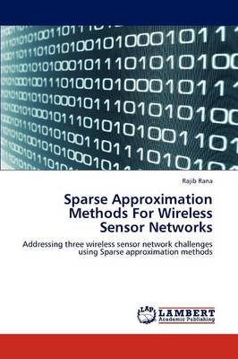 Sparse Approximation Methods for Wireless Sensor Networks (Paperback)