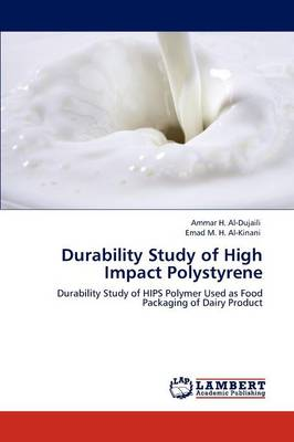 Durability Study of High Impact Polystyrene (Paperback)