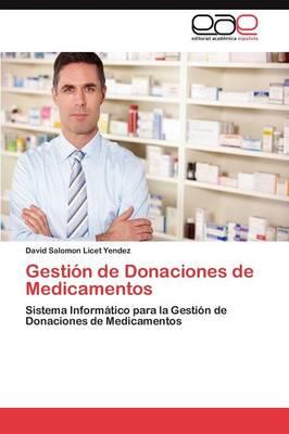 Gestion de Donaciones de Medicamentos (Paperback)