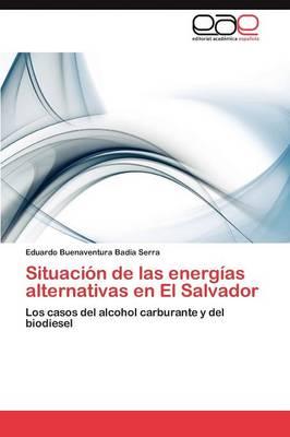 Situacion de Las Energias Alternativas En El Salvador (Paperback)