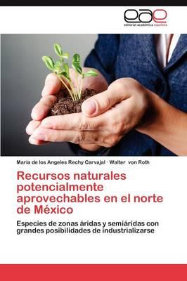 Recursos Naturales Potencialmente Aprovechables En El Norte de Mexico (Paperback)
