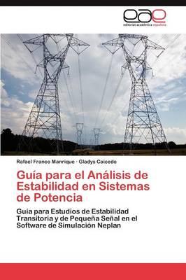 Guia Para El Analisis de Estabilidad En Sistemas de Potencia (Paperback)