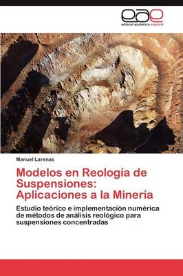 Modelos En Reologia de Suspensiones: Aplicaciones a la Mineria (Paperback)