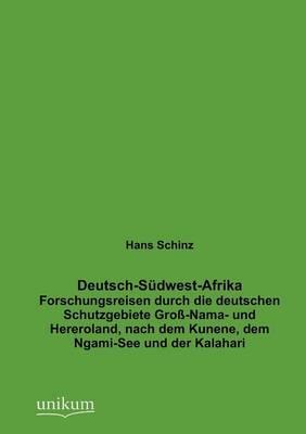 Deutsch-S Dwest-Afrika (Paperback)