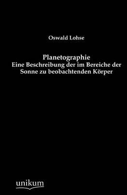 Planetographie (Paperback)