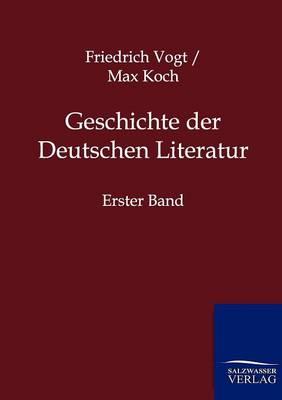 Geschichte Der Deutschen Literatur (Paperback)