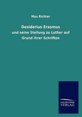 Desiderius Erasmus (Paperback)