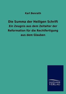 Die Summa Der Heiligen Schrift (Paperback)