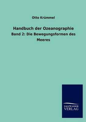 Handbuch Der Ozeanographie (Paperback)