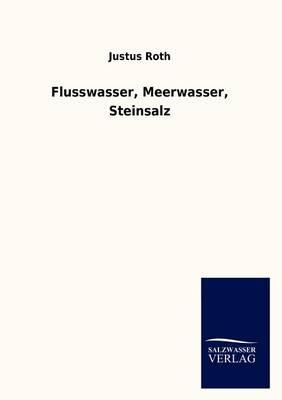 Flusswasser, Meerwasser, Steinsalz (Paperback)