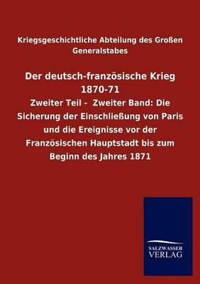 Der Deutsch-Franz sische Krieg 1870-71 (Paperback)