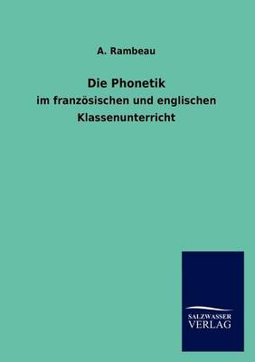 Die Phonetik (Paperback)