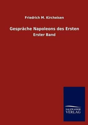 Gespr Che Napoleons Des Ersten (Paperback)