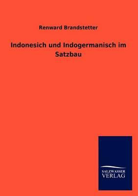 Indonesich Und Indogermanisch Im Satzbau (Paperback)