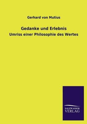 Gedanke Und Erlebnis (Paperback)