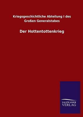 Der Hottentottenkrieg (Paperback)