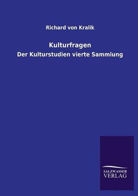 Kulturfragen (Paperback)