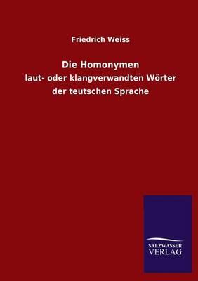 Die Homonymen (Paperback)