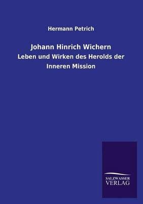 Johann Hinrich Wichern (Paperback)