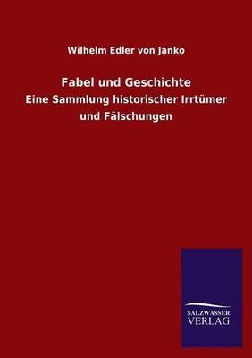 Fabel Und Geschichte (Paperback)