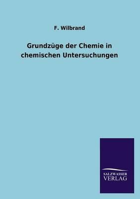 Grundzuge Der Chemie in Chemischen Untersuchungen (Paperback)
