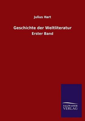 Geschichte Der Weltliteratur (Paperback)