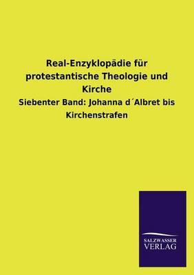Real-Enzyklop die F r Protestantische Theologie Und Kirche (Paperback)