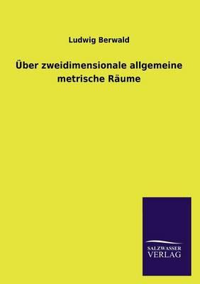ber Zweidimensionale Allgemeine Metrische R ume (Paperback)