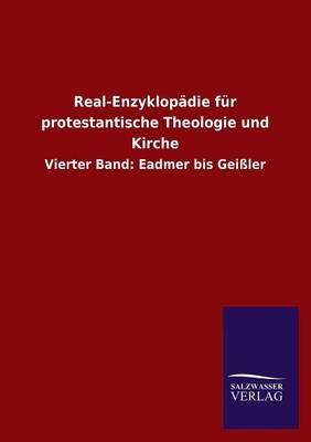 Real-Enzyklopadie Fur Protestantische Theologie Und Kirche (Paperback)