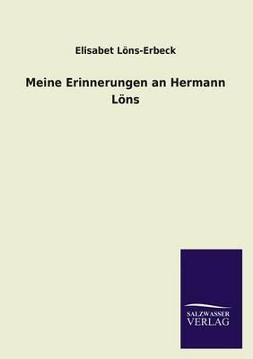 Meine Erinnerungen an Hermann Lons (Paperback)