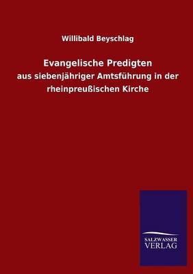 Evangelische Predigten (Paperback)