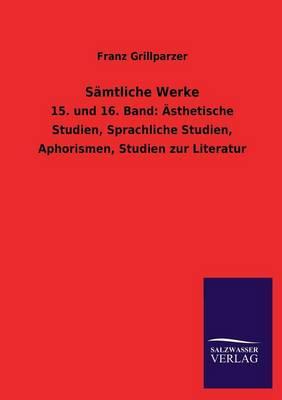 Samtliche Werke (Paperback)