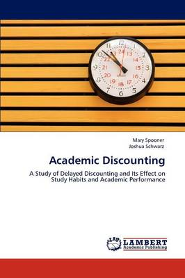 Academic Discounting (Paperback)