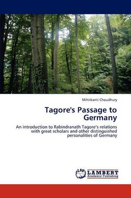 Tagore's Passage to Germany (Paperback)