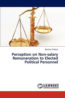 Perception on Non-Salary Remuneration to Elected Political Personnel (Paperback)