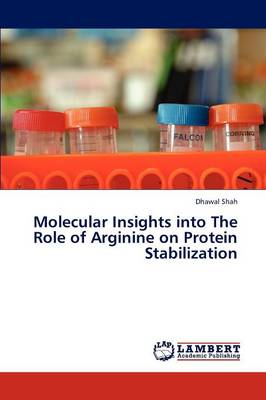 Molecular Insights Into the Role of Arginine on Protein Stabilization (Paperback)