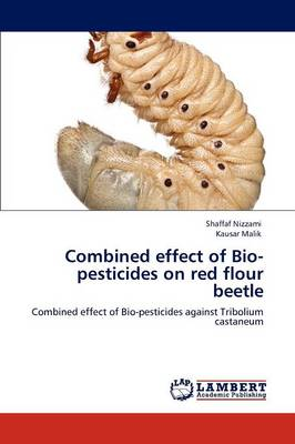 Combined Effect of Bio-Pesticides on Red Flour Beetle (Paperback)