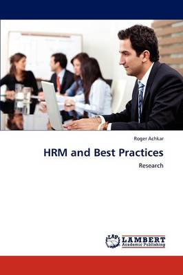 Hrm and Best Practices (Paperback)