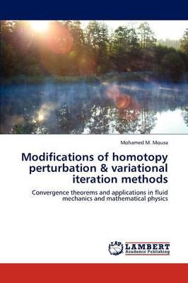 Modifications of Homotopy Perturbation & Variational Iteration Methods (Paperback)