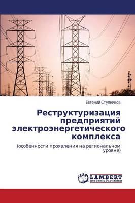 Restrukturizatsiya Predpriyatiy Elektroenergeticheskogo Kompleksa (Paperback)