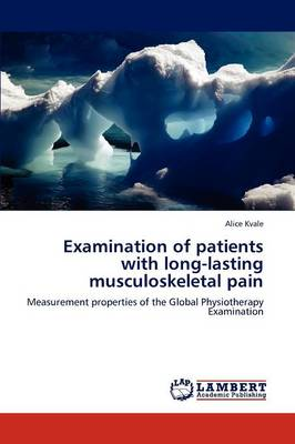 Examination of Patients with Long-Lasting Musculoskeletal Pain (Paperback)