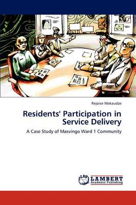 Residents' Participation in Service Delivery (Paperback)