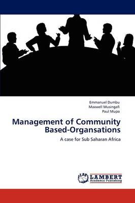 Management of Community Based-Organsations (Paperback)