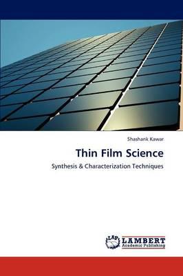 Thin Film Science (Paperback)