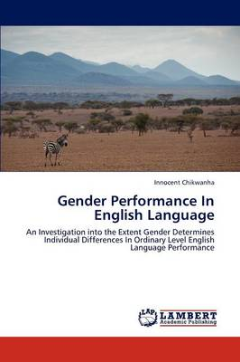 Gender Performance in English Language (Paperback)