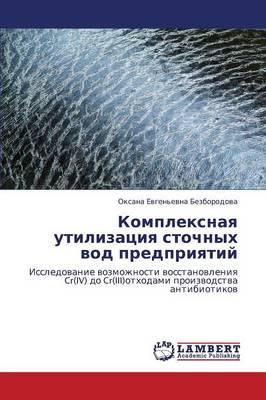 Kompleksnaya Utilizatsiya Stochnykh Vod Predpriyatiy (Paperback)