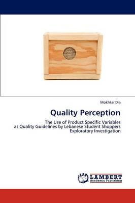Quality Perception (Paperback)