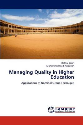Managing Quality in Higher Education (Paperback)