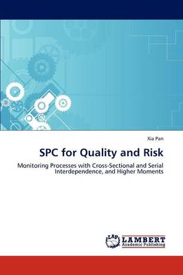 Spc for Quality and Risk (Paperback)
